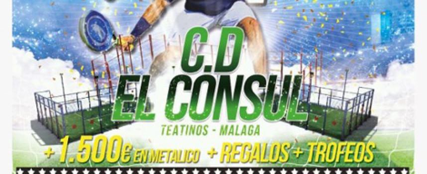 Espectacular torneo de pádel de Todo Torneos Málaga con premios en metálico en todas las categorías