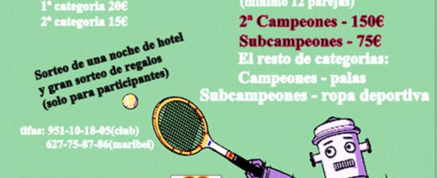 Churriana anuncia el IV Torneo Cristalpádel para mitad de junio