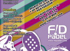 Fidpadel prepara su II Torneo de pádel para recibir al verano