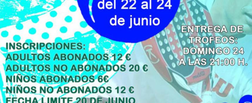Valssport se estrena al frente del Club de Raqueta de Benalmádena con el VIII Torneo de Pádel San Juan