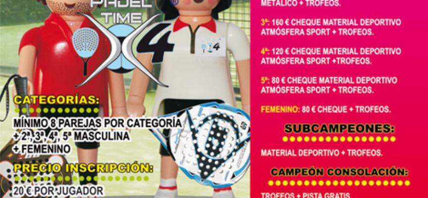 Pádel Time x 4 abre el verano en Cártama con el IV Torneo de Pádel