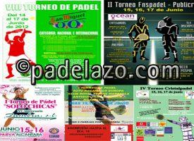 Cinco grandes torneos abren la temporada de verano del pádel amateur de Málaga