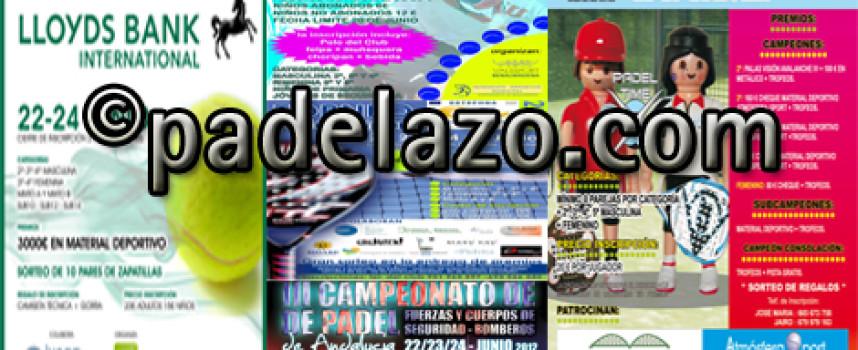 Cinco torneos de pádel abren la agenda del verano en Málaga