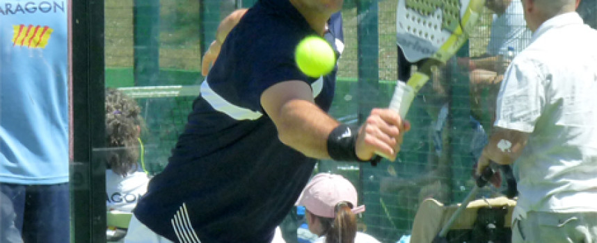 Juanjo Valencia: del fútbol al pádel con el mismo espíritu competitivo