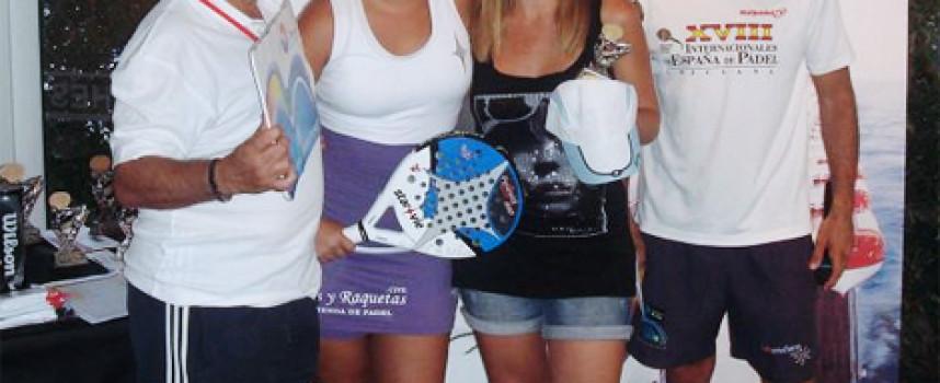 Mucho pádel y más premios en el Torneo Ocio Mediterráneum en el club Los Boliches