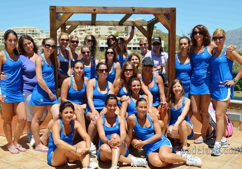 grupo padel final liga femenina costa del sol