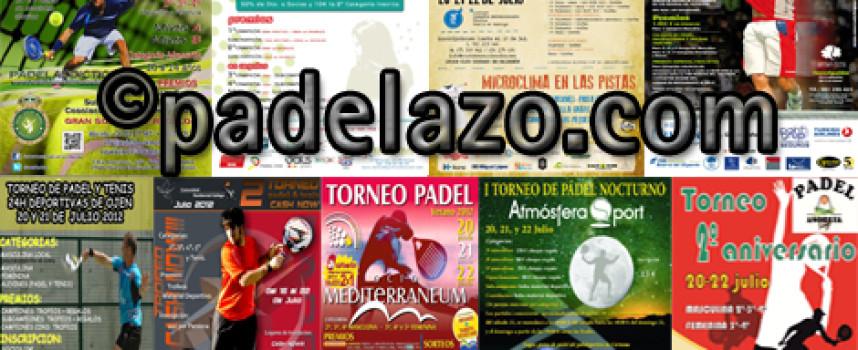 Nueve torneos de pádel dan la bienvenida del PPT a Málaga