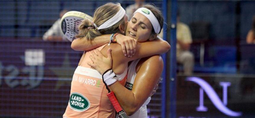 Carolina Navarro y Ceci Reiter pasan el rodillo para vencer en Gijón