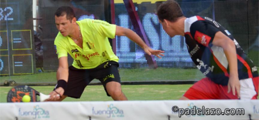 Paquito Navarro y Adrián Allemandi desafían la jerarquía del ranking PPT en Fuengirola