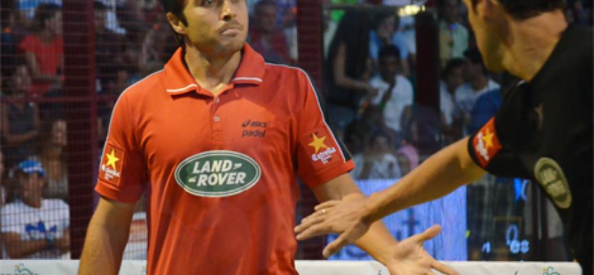 Belasteguin y Martín Díaz reconquistan Fuengirola con su victoria sobre Lima y Mieres