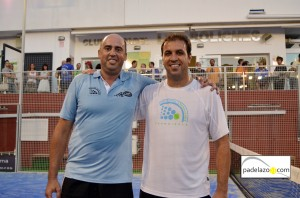 Jose Marmolejo y Tony Fernandez final 2ª masculina Torneo Padel Hipema club Los Boliches 2012