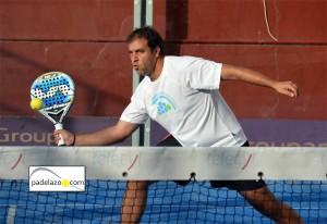 Tony Fernandez final 2ª masculina Torneo Padel Hipema club Los Boliches 2012