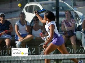 Alba Perez padel 3 femenina padel torneo añoreta septiembre 2012