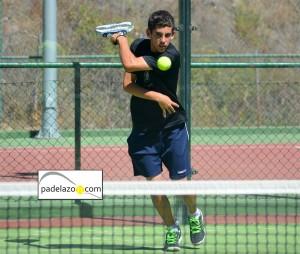 Andy Hidalgo 2 padel 2 masculina torneo negocios estepona club tenis septiembre 2012