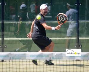 David Lopez Alcantara padel +40 IV Prueba Circuito Andaluz Veteranos El Candado 2012