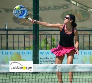 Lourdes Gomez padel +35 IV Prueba Circuito Andaluz Veteranos El Candado 2012