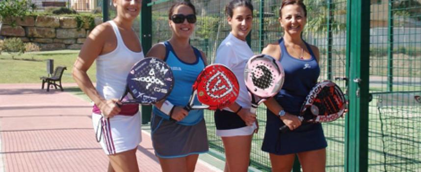 La Liga Femenina Padelazo se sobrepone a las lesiones y apunta ya a su cuarta jornada