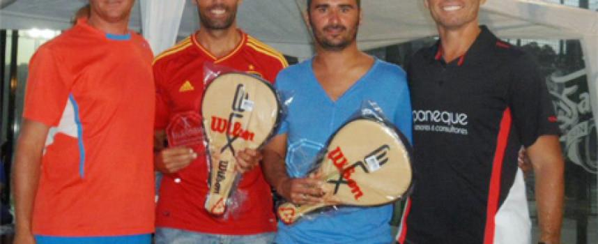 El pádel desborda el I Torneo Grupo Moliere en el Centro Deportivo El Cónsul