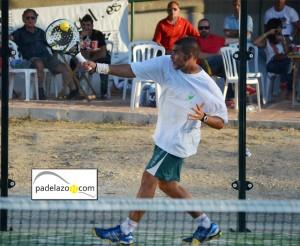Fran Tobaria padel 2 masculina torneo benefico colegio los olivos octubre 2012