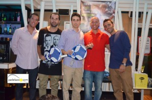 Javier Salinas y Kike Valenzuela padel campeon 2 masculina torneo kokun jarana torremolinos octubre 2012.jpg