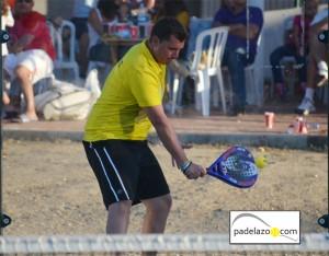 Paquito Ruiz padel 2 masculina torneo benefico colegio los olivos octubre 2012