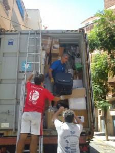 contenedores cooperacion honduras julio 2012