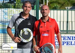 Fran Tobaria y Sergio Beracierto padel 1 masculina torneo otoño invierno 2012 capellania