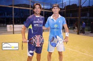 Guille Demianiuk y Gonzalo Rubio padel 1 masculina torneo kokun jarana torremolinos octubre 2012