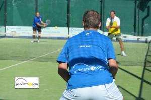 Víctor Almirall padel 2 masculina Torneo Cooperacion Honduras Lew Hoad Octubre 2012
