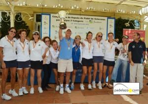 golf moraleja campeon femenino campeonato españa padel por equipos 2 categoria veteranos nueva alcantara 2012
