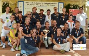 nueva alcantara campeon masculino campeonato españa padel por equipos 2 categoria veteranos nueva alcantara 2012