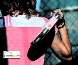 ropa femenina padel camiseta y pala rosa femenina ropa