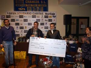 entrega cheque caritas i open padel benefico caritas matagrande antequera 2011