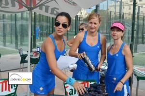 Elisa Gordo Liga Femenina Padelazo padel malaga el consul
