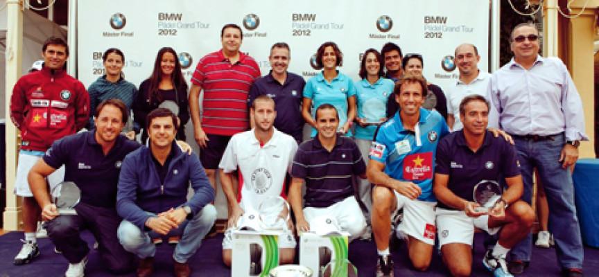Nueva Alcántara corona a las parejas ganadoras del BMW Padel Grand Tour 2012