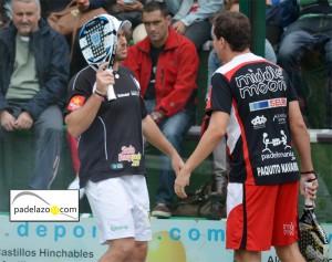 paquito navarro y jordi muñoz campeones andalucia padel 2012
