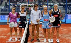 patty llaguno eli amatriain carolina navarro y ceci reiter semifinal ppt madrid 2012