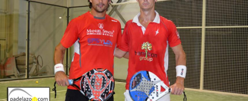 Gonzalo Rubio y Guille Demianiuk ponen a cubierto su triunfo en el IV Torneo de Pádel Custom Comunicación
