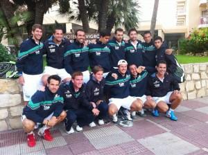seleccion andaluza masculina pádel subcampeona españa 2012