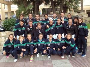 selecciones andaluzas masculina femenina 2012