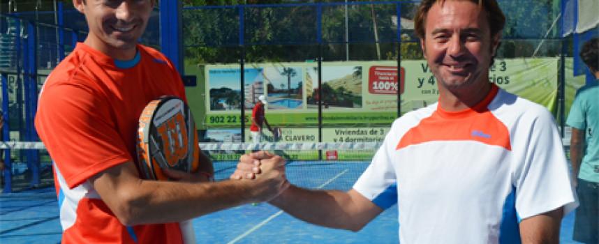 El fichaje de Willy Ruiz da un salto de calidad a la Escuela de Pádel del club Pinos del Limonar