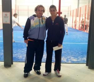 Francisco Macias y Ana Medina campeones 4 masculina torneo padel indoor campillos noviembre 2012