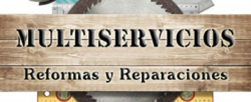 Multiservicios: reformas, albañilería, fontanería, electricidad, pintura y carpintería