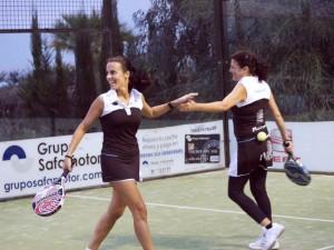 campeonas 2 femenina land rover padel tour 2012