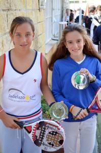 Bea González y Begoña Benjumeda campeonas 7ª prueba Circuito Andaluz Pádel Menores 2012