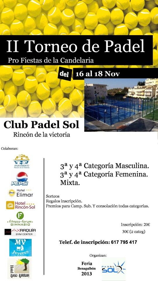 II Torneo de Padel Pro Fiestas de la Candelaria en el club Padel Sol - 16-18 Noviembre Cartel-torneo-padel-pro-fiestas-de-la-candelaria-padel-sol-rincon-victoria-noviembre-2012