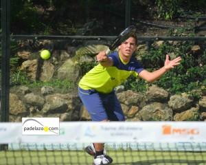 Adrian Chamizo Wessels 2 padel infantil masculino campeonato andalucia padel menores nueva alcantara marbella 2012