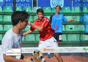 Alejandro Ruiz Granados y Ernesto Moreno Carrasco campeones junior masculino campeonato andalucia padel menores nueva alcantara marbella 2012