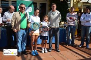 Daniela Casasolas Monllor y Simona Karlsson Hantzis campeonas benjamin femenino campeonato andalucia padel menores nueva alcantara marbella 2012