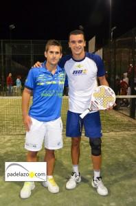 Javi Bravo y Pablo Herrera campeones 1ª masculina Torneo Paneque El Consul octubre 2012